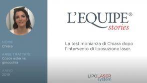 Testimonianza di Chiara post Liposuzione laser Cosce esterne e Ginocchia